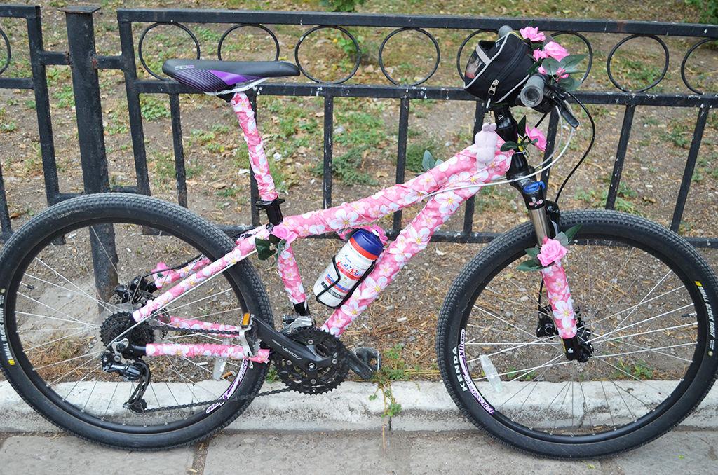 Украшаем велосипед для мальчиков
